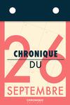 Livre numérique Chronique du 26 septembre