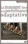 Livre numérique Le manager face à sa performance adaptative