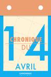 Livre numérique Chronique du 14  avril