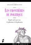 Livre numérique Les frontières du politique