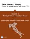 Livre numérique Fana, templa, delubra. Corpus dei luoghi di culto dell'Italia antica (FTD) - 4