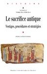 Livre numérique Le sacrifice antique