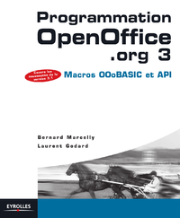 Programmation OpenOffice.org 3, MACROS, OOOBASIC ET API