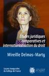 Livre numérique Études juridiques comparatives et internationalisation du droit