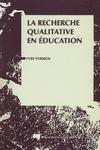 Livre numérique La recherche qualitative en éducation
