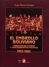 Livre numérique El embrollo boliviano