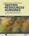 Livre numérique L'approche systémique de la gestion des ressources humaines