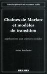 Livre numérique Chaines de Markov et modèles de transition : applications aux sciences sociales (coll. Interdisciplinarité et nouveaux outils)