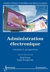 Livre numérique Administration électronique: constats et perspectives