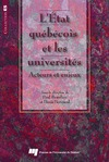 Livre numérique L'état québécois et les universités