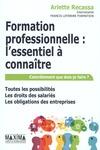 Livre numérique Formation professionnelle : l'essentiel à connaître