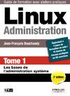 Livre numérique Linux administration - Tome 1