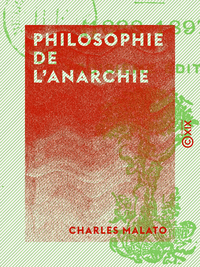 Philosophie de l'anarchie