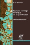 Livre numérique Pour une sociologie historique de la quantification