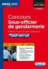 Livre numérique Concours Sous-officier de gendarmerie - Catégorie B - Tout-en-un