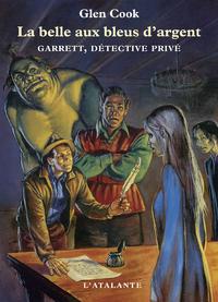 La Belle aux bleus d'argent, Garrett, détective privé, T1