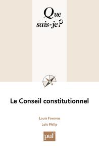 Le Conseil constitutionnel, « Que sais-je ? » n° 1724