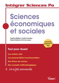Livre numérique Les sciences économiques et sociales à Sciences Po