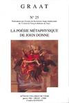 Livre numérique La poésie métaphysique de John Donne