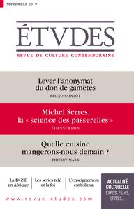 Revue Etudes - Lever l'anonymat du don de gamètes