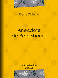Anecdote de Pétersbourg