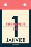 Livre numérique Chronique du 1er  janvier