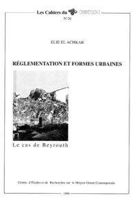 Livre numérique Réglementation et formes urbaines