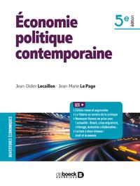 ECONOMIE POLITIQUE CONTEMPORAINE