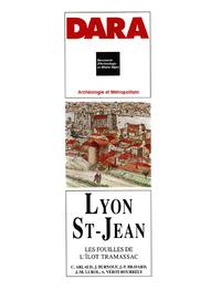 Livre numérique Lyon Saint-Jean, les fouilles de l'îlot Tramassac