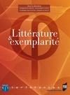 Livre numérique Littérature et exemplarité