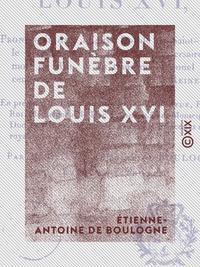 Oraison funèbre de Louis XVI