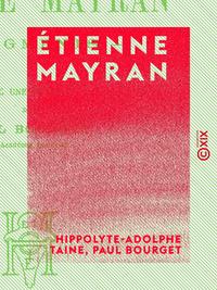 Étienne Mayran, FRAGMENTS