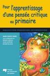 Livre numérique Pour l'apprentissage d'une pensée critique au primaire