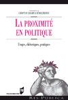 Livre numérique La proximité en politique