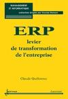 Livre numérique ERP levier de la transformation d'entreprise