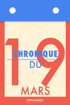 Livre numérique Chronique du 19  mars