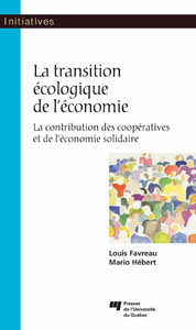 Livre numérique La transition écologique de l'économie