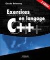 Livre numérique Exercices en langage C++
