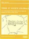 Livre numérique Terre et société coloniale