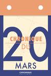 Livre numérique Chronique du 20  mars