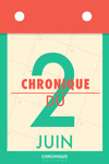Livre numérique Chronique du 2  juin