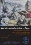 Livre numérique Mémoires du chanoine Le Sage