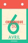 Livre numérique Chronique du 6  avril