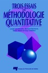 Livre numérique Trois essais de méthodologie quantitative