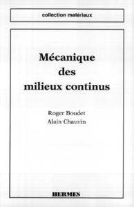 Livre numérique Mécanique des milieux continus (coll. matériaux)