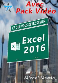 Excel 2016 avec pack vidéo