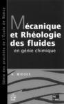 Livre numérique Mécanique et rhéologie des fluides en génie chimique