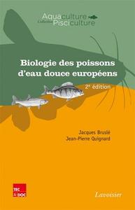 Livre numérique Biologie des poissons d'eau douce européens