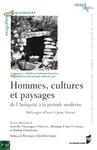 Livre numérique Hommes, cultures et paysages de l'Antiquité à la période moderne