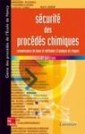 Livre numérique Sécurité des procédés chimiques